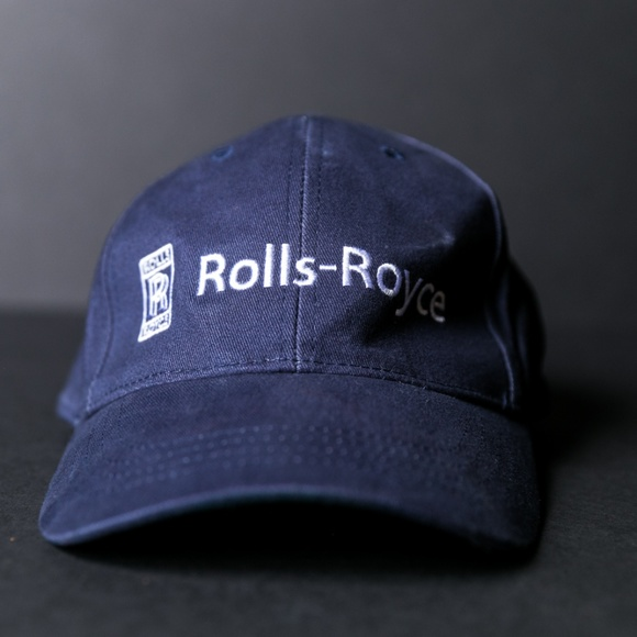 ROLLS ROYCE Embroidered Strapback Dad Hat. M 5b65fd35a31c33448125f521 64bf0e71c397